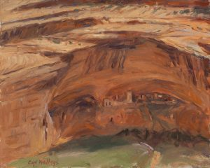 STUDY MUMMY CAVE RUINS by Master Grand Canyon Artist Curt Walters