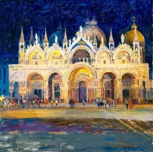Nocturne of St. Marks Basilica