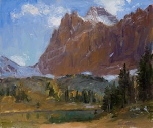 Opabin Plateau by Master Grand Canyon Artist Curt Walters