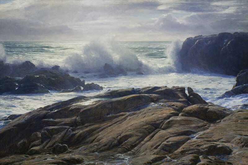 Breaking Surf: Point Lobos