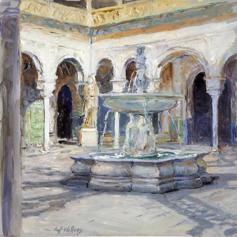 The Main Patio, House of Pilate, Seville