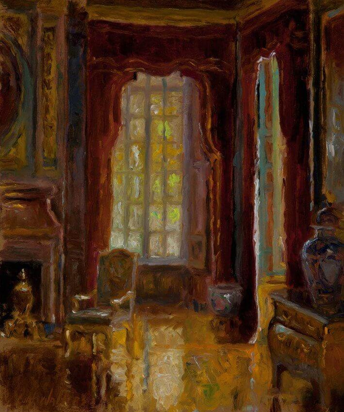 Salon d'Honneur, Chateau de Balleroy