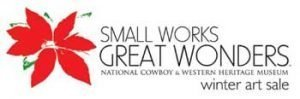 smallworks Great Wonders National Cowboy & Western Heritage Museum Winter art sale