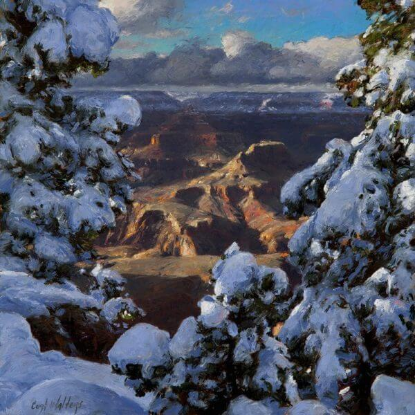 Magic of New Snow by Curt Walters