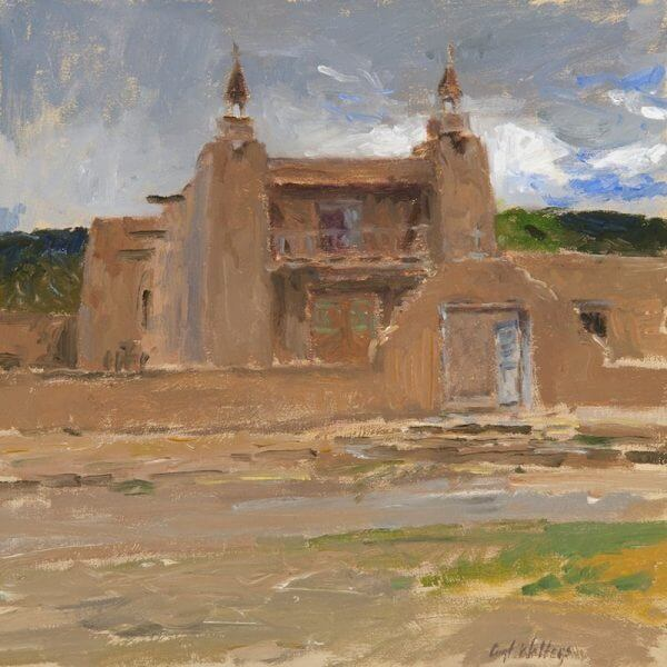 Stormy Day at Las Trampas by Artist Curt Walters