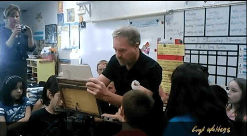 Curt Visits Cottonwood Elementary