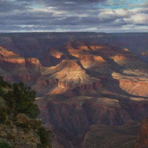 PER CHANCE FOR EONS by Master Grand Canyon Artist Curt Walters