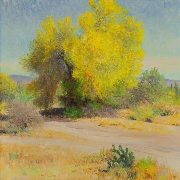PALO VERDE GLOW by Master Grand Canyon Artist Curt Walters