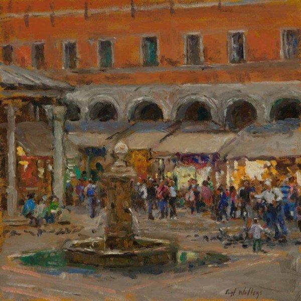 Rialto Market by Master Grand Canyon Artist Curt Walters