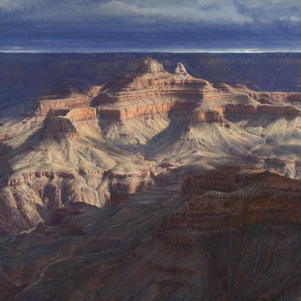 GIFT OF PERSISTENCE by Master Grand Canyon Artist Curt Walters