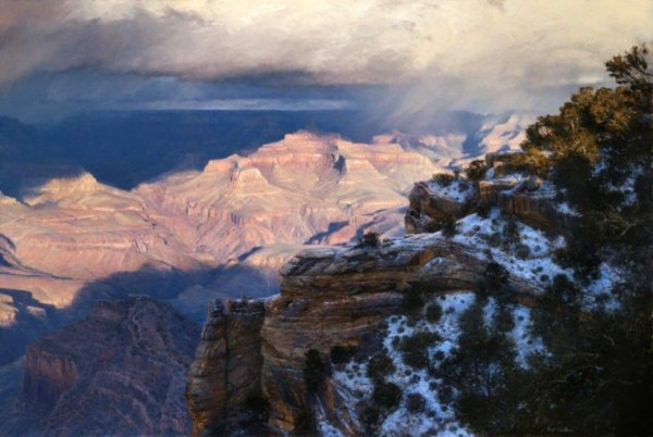 Appochment by Master Grand Canyon Artist Curt Walters