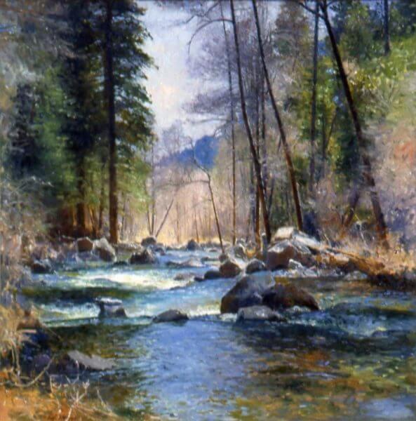 Abounding Oak Creek by Master Artist Curt Walters