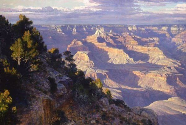 Beyond Tomorrow Grand Canyon painting by Curt Walters