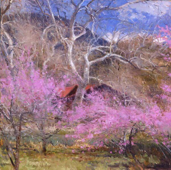 Coming of Spring painting by Curt Walters