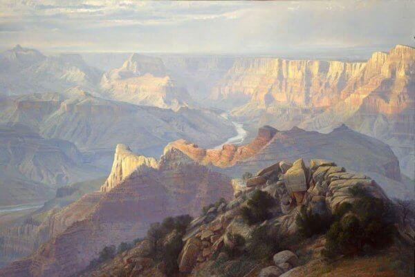 Desert Wonder painting by Curt Walters