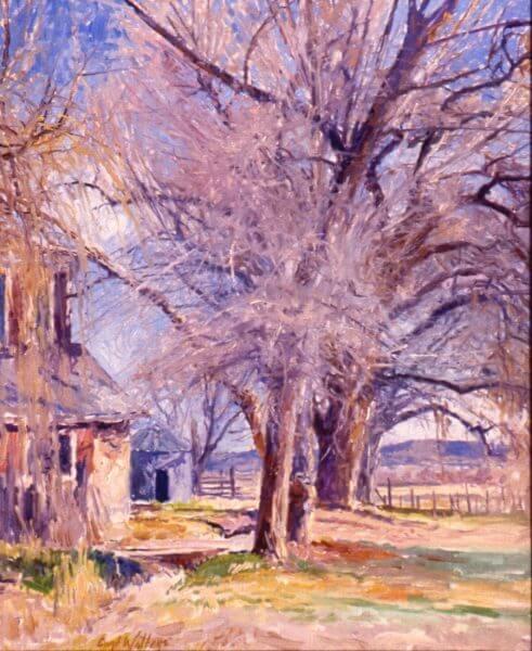 La Plata Homestead painting by Curt Walters