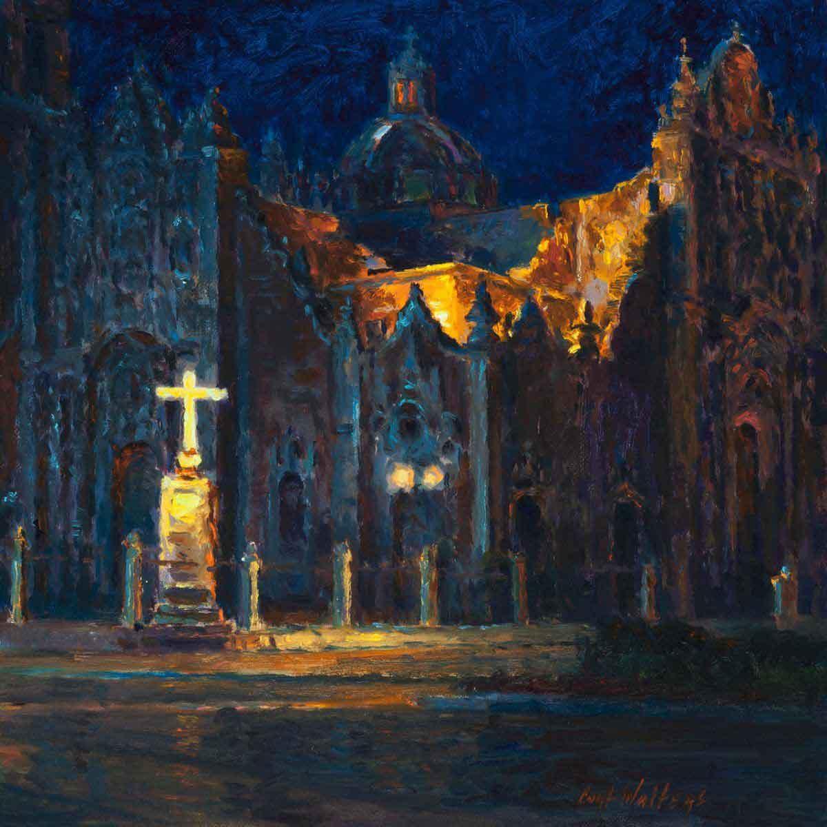 Nocturne San Felipes Chapel