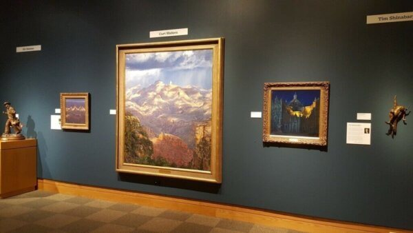 Curt's Paintings on display at Prix de West