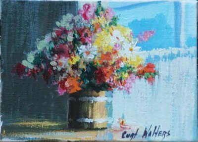 Spring Bouquet 5x7 by Curt Walters