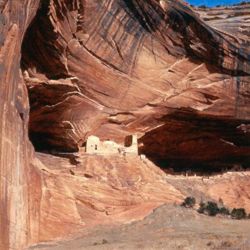 mummy cave ruin 1997 Curt Walters
