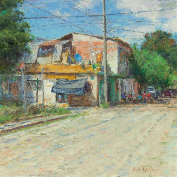 A DAY IN LA CRUZ Oil on Canvas