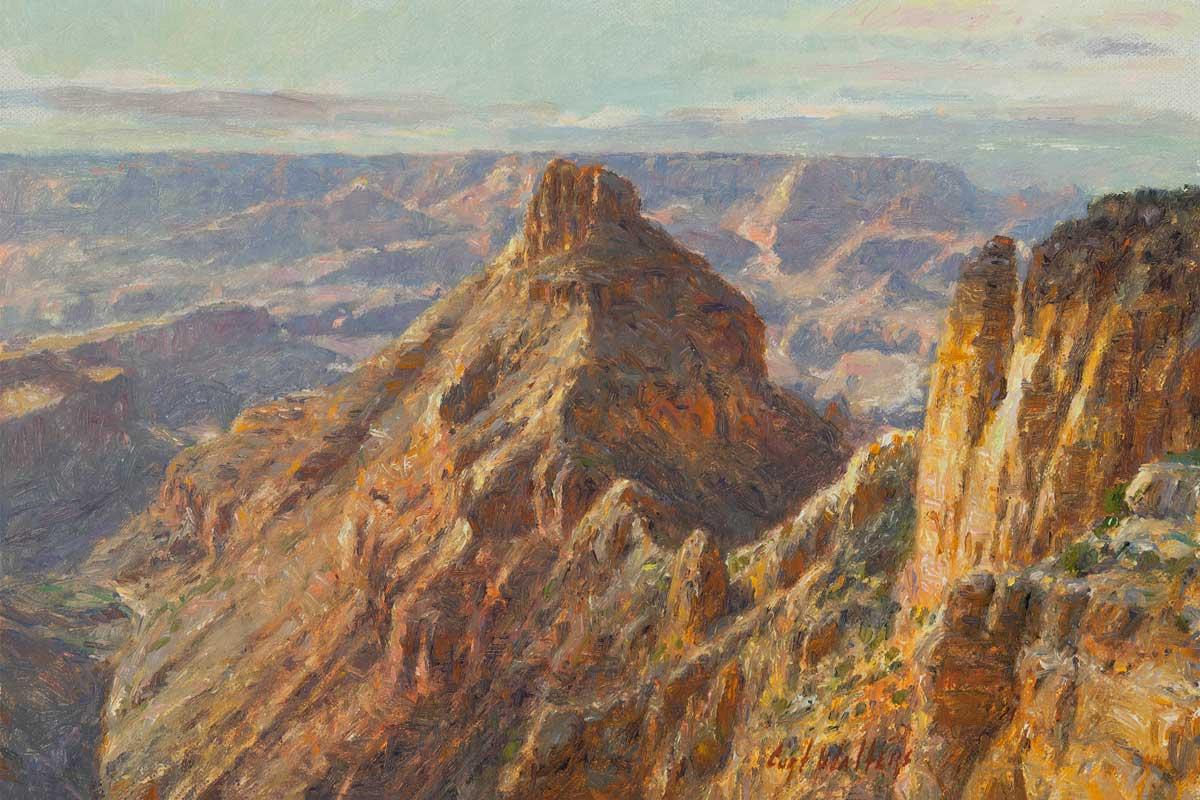 Coronado's Vista by Curt Walters, Greatest Living Grand Canyon Artist