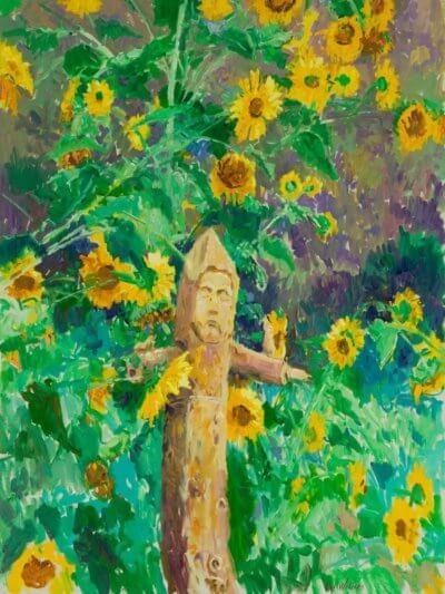 Santo oil on canvas