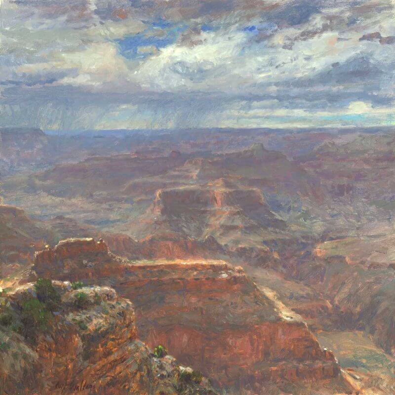 Thunder from the West by Grand Canyon Master Artist Curt Walters