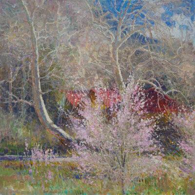 Awakening, Oil on Canvas by Curt Walters, Landscape Artist